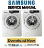 Thumbnail Samsung WF210ANW WF220ANW Service Manual & Repair Guide
