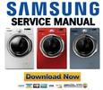 Thumbnail Samsung WF350ANW WF350ANR WF330ANW WF330ANB Service Manual & Repair Guide