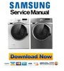 Thumbnail Samsung WF431ABW WF431ABP Service Manual & Repair Guide