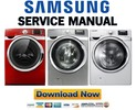 Thumbnail Samsung WF511ABR WF520ABP WF520ABW Service Manual & Repair Guide