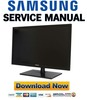 Thumbnail Samsung SyncMaster S24A450BW Service Manual & Repair Guide
