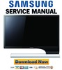 Thumbnail Samsung SyncMaster S24B750V + S27B750V Service Manual & Repair Guide