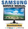 Thumbnail Samsung SyncMaster T27A550 Service Manual & Repair Guide