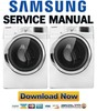 Thumbnail Samsung DV511AGW Service Manual & Repair Guide
