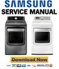 Thumbnail Samsung DV5471AEW DV5471AEP Service Manual & Repair Guide
