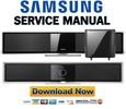 Thumbnail Samsung HT-BD8200 BD8200T Service Manual & Repair Guide