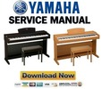 Thumbnail Yamaha YDP-131 + 131C Service Manual & Repair Guide