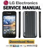 Thumbnail LG Marquee LS855 Service Manual & Repair Guide