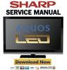 Thumbnail Sharp LC-40LU700E 40LU700S 40LU700RU Service Manual & Repair Guide