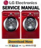 Thumbnail LG WM2650HRA Service Manual & Repair Guide