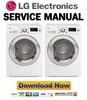 Thumbnail LG DLEC855W Service Manual & Repair Guide