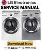 Thumbnail LG DLEX3360V DLEX3360W Service Manual & Repair Guide