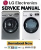 Thumbnail LG DLEX3470V DLEX3470W Service Manual & Repair Guide