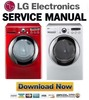 Thumbnail LG DLGX2651R DLGX2651W Service Manual & Repair Guide