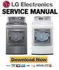 Thumbnail LG DLGX5171V DLGX5171W Service Manual & Repair Guide