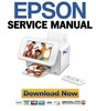 Thumbnail Epson PictureMate PM 300 + 310 Service Manual & Repair Guide