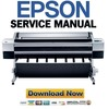 Thumbnail Epson Stylus Pro 11880 + 11880C FULL Service Manual & Repair Guide
