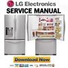 Thumbnail LG LFX21971ST Service Manual & Repair Guide