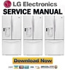 Thumbnail LG LFX23961SW Service Manual & Repair Guide
