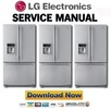 Thumbnail LG LFX25950TT Service Manual & Repair Guide