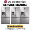 Thumbnail LG LFX25961AL Service Manual & Repair Guide