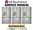 Thumbnail LG LFX25980ST Service Manual & Repair Guide