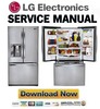 Thumbnail LG LFX25991ST Service Manual & Repair Guide