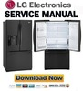 Thumbnail LG LFX28968SB Service Manual & Repair Guide