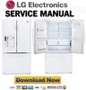 Thumbnail LG LFX28968SW Service Manual & Repair Guide