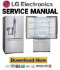 Thumbnail LG LFX28991ST Service Manual & Repair Guide