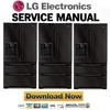 Thumbnail LG LMX25981SB Service Manual Repair Guide