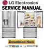 Thumbnail LG LMX28987ST Service Manual Repair Guide