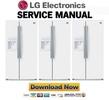 Thumbnail LG LSC26905SW Service Manual Repair Guide