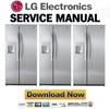 Thumbnail LG LSC27910TT Service Manual Repair Guide