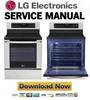 Thumbnail LG LRE3012ST Service Manual Repair Guide
