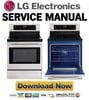 Thumbnail LG LRE3023ST Service Manual and Repair Guide