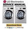 Thumbnail LG F1447TD01 Service Manual Repair Guide
