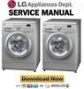 Thumbnail LG F1492TD Service Manual Repair Guide