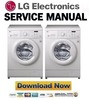 Thumbnail LG WD11020D Service Manual & Repair Guide