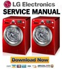 Thumbnail LG WD14039D Service Manual & Repair Guide