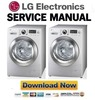 Thumbnail LG WD14060D6 Service Manual & Repair Guide