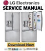 Thumbnail LG GR D730SL Service Manual & Repair Guide