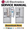 Thumbnail LG GR-D907SL Service Manual & Repair Guide
