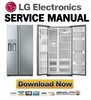 Thumbnail LG GS5163AVJV Service Manual & Repair Guide