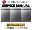 Thumbnail LG D1454TF Service Manual Repair Guide
