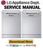 Thumbnail LG LD-1403W Service Manual Repair Guide