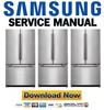Thumbnail Samsung RF263AFRS Service Manual & Repair Guide