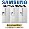 Thumbnail Samsung RS263TDWP Service Manual & Repair Guide