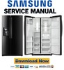Thumbnail Samsung RS265TDBP Service Manual & Repair Guide