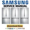 Thumbnail Samsung RF260BEAESP RF260BEAESL Service Manual
